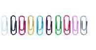 Briefklammern farbig sortiert (1 Pck = 100 St.) [50806]