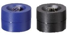 Briefklammernspender (Magnetdose), schwarz [50810SW]